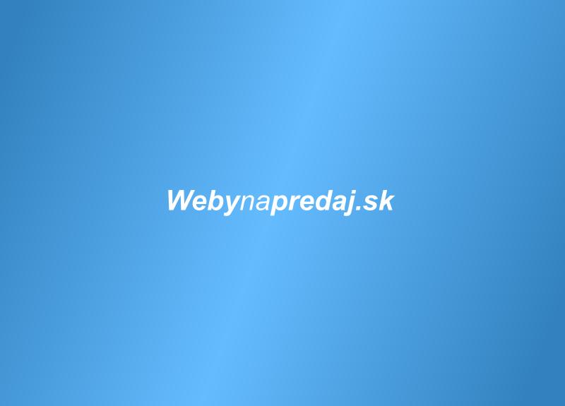Predám portál autodielyinzercia.sk