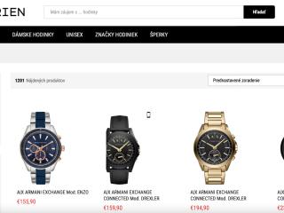 Na predaj  E-SHOP s hodinkami a šperkami